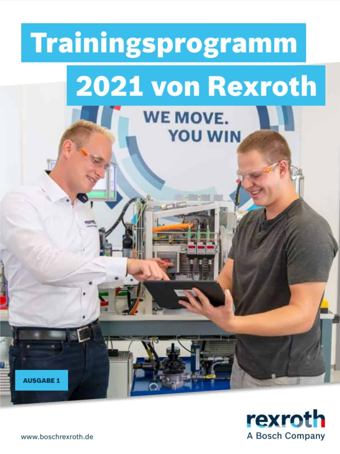 Bosch Rexroth Trainingsprogramm 2021